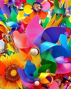 COLORful Pinwheels
