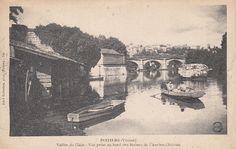 POITIERS - Vallée du clain vue depuis ruines de l'ancien château