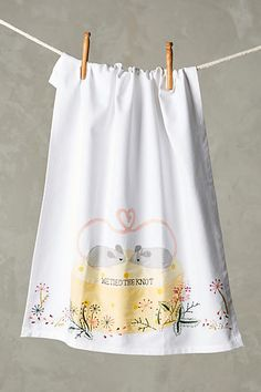 Honeymooners Dishtowel - anthropologie.com