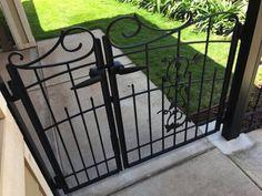 Gate Series — KunkelWorks Grill Gate Design, Steel Gate Design, Front Gate Design, Front Gates, Entrance Gates, Aluminium Gates, Bamboo Light, Gallery Wall Layout, Door Design Interior