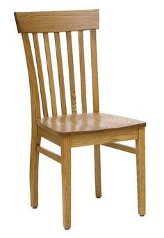Amish San Marino Dining Room Chair Solid wood dining chairs. Handcrafted in choice of wood and finish. #DutchCrafters