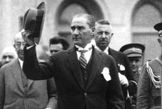 Mustafa Kemal Atatürk was an Ottoman and Turkish army officer, revolutionary statesman, writer, and the first President of Turkey. Republic Of Turkey, The Republic, Ottoman Turks, Turkish People, Turkish Army, The Turk, Elegant Man, Great Leaders, World Peace