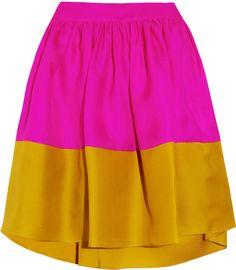 #theoutnet.com            #Skirt                    #Roksanda #Ilincic #color-block #silk-twill #mini #skirt #OUTNET.COM          Roksanda Ilincic Jim color-block silk-twill mini skirt � 70% at THE OUTNET.COM                                                    http://www.seapai.com/product.aspx?PID=645369