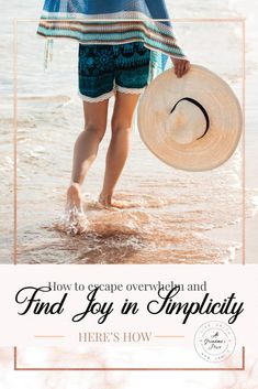 Do you want to escape to a simpler lifestyle? Trying  to pry yourself away from technology and life's ongoing busyness? Searching for simple relaxing activities? Why not try these practical ideas to bring simple joy to your busy life?  #atgrandamsplace #simplifylife #tipsandideas #joyinlife #momentsthatmatter