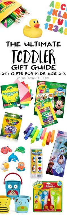 The Ultimate Gift Guide for Toddlers - Wit & Wander 25+ Items for Toddlers 1-3 Years Old - Wit & Wander   From practical to fun, these Top 35 Items for Toddlers 12-36 Months are the best toys, games, equipment, and accessories you will need for your toddler. This is also an amazing Gift Guide for Babies, Toddlers, and Preschoolers!
