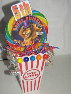 Madagascar 3  circus carnival theme party by flowers130 on Etsy, $18.00