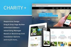 Charity+ Wordpress theme by Themes Kingdom on @creativemarket