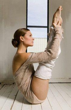 Yoga leg Warner's for morning stretch.