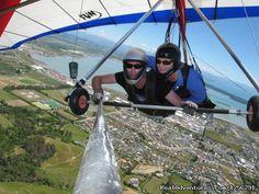 tandem flight: Nelson Hang Gliding Adventures