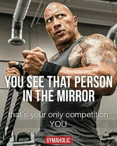 You See That Person In The Mirror Thatu0027s Your Competition