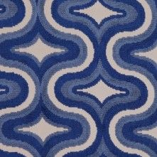 Blue Classical Chenille
