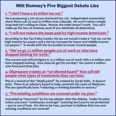 politicians vs the truth.