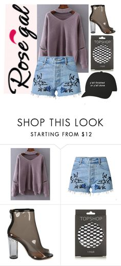"""""""Untitled #150"""" by lorgriff ❤ liked on Polyvore featuring Topshop"""