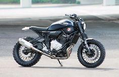 "Yamaha XSR 700 ""Super 7 Scrambler"" by JvB-Moto"