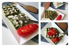 spenótos gofri Waffles, Breakfast, Ethnic Recipes, Food, Food Cakes, Morning Coffee, Eten, Waffle, Meals
