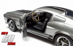 Eleanor - 1967 Ford Mustang Custom - Gone In 60 Seconds (2000) Model Car 1:18 Scale by Greenlight.
