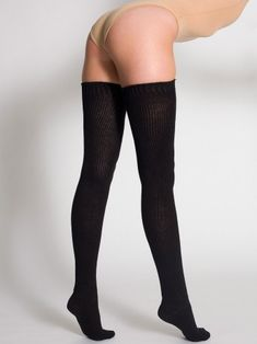 Love thigh high socks. Pretty much want every color.