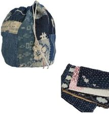 Komebukuro bags have been traditionally used in Japan to carry rice offerings to the temple for important religious events. Japanese Bags, Japanese Rice, Farmer Outfit, Boro Stitching, Rice Bags, Japanese Textiles, Vintage Fabrics, Wabi Sabi, Vintage Japanese