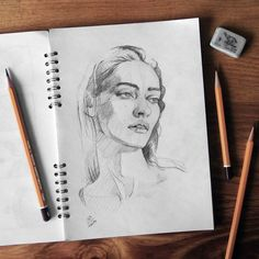 "592 Likes, 9 Comments - Miroslav Zgabaj (@miro_z_art) on Instagram: ""Sketch. #face #sketch #drawing #sketchbook #pencil #paper #art #miro_z #arts_help #theartslovers…"""