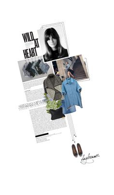 """""""denim with studded shoes"""" by summerbreeze85 ❤ liked on Polyvore"""