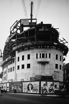 BBC Broadcasting House under construction in 1930 | Flickr - Photo Sharing!