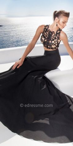 Peny Evening Dress By Tarik Ediz  #edressme