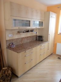 Kuchyně - vestavěná chladnička Decor, Kitchen Cabinets, Cabinet, Home Decor, Kitchen