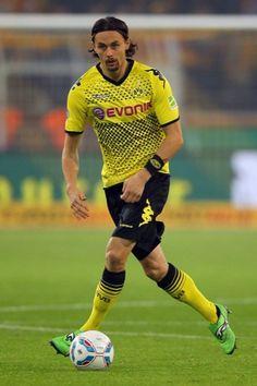 Serbian International Neven Subotic on Borussia Dortmund