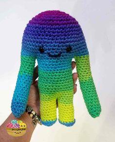 Free Hugamonster Crochet Monster Pattern