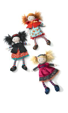 So cute! Fairytale Dolls at Nordstrom