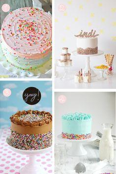 Sprinkle cakes!