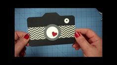 This tutorial will show you how to use an envelope punch board and a few paper punches to create an adorable 3 1/2 x 5 inch camera shaped card and matching e...