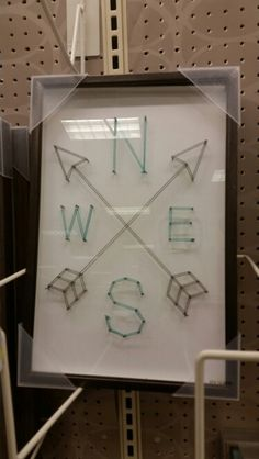 Target does string art. Compass. Totally doable!
