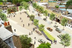 shared space street design - Google Search
