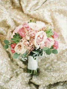 Softer blush, greater succulents, more dusty miller.