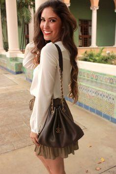 Chanel Purse Miami Fashion Blogger