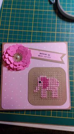 Cross Stitch Beginner, Tiny Cross Stitch, Cross Stitch Cards, Embroidery Cards, Embroidery Patterns, Cross Stitch Patterns, Baby Applique, Pixel Crochet, Marianne Design