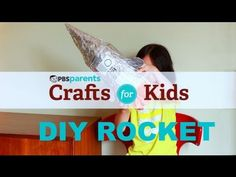 Have a blast making these DIY rockets! #pbscraftsforkids