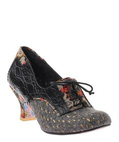 Take a look at this Black First Kiss Pump by Irregular Choice on #zulily today!