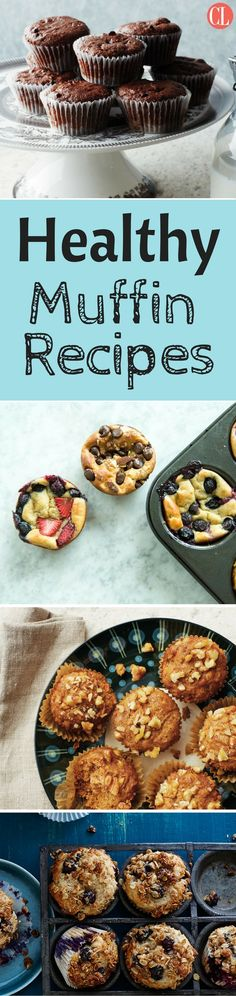 Our lighter muffin recipes will get you going in the morning and keep you going throughout the day or whenever you need a perfectly portable breakfast or snack. We have all of your favorites such as Blueberry and Oatmeal and Pumpkin Spice, plus exciting flavors like Sour Cream and Coffeecake. Whether sweet or savory—these easy-to-prepare little quick breads are perfect for breakfast, snacks, or even dessert.   Cooking Light
