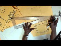 Curso de camisa masculina parte 7 - modelagem manga curta - YouTube