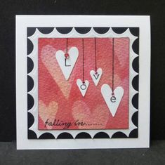 FS313 Falling in Love by hobbydujour - Cards and Paper Crafts at Splitcoaststampers