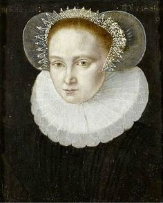 Circle of Francois Clouet, Portrait of a noble lady (16th century)