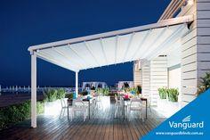 MEDITERRANEA - Gibus fabric retractable roof/awning