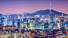 Seoul, S. Korea is the eighth-biggest air hub in the world, making a visit to Seoul easy to combine with trips to nearby Japan and China. Lonely Planet, Visit Seoul, Thinking Day, Vacation Spots, Where To Go, South Korea, San Francisco Skyline, Scenery, Around The Worlds