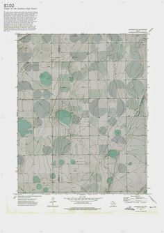 """E102 / from """"Cultivating the Map"""" by Danny Wills. via BLDBLOG #maps #cartography"""