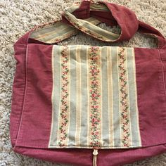 Maroon Messenger Bag with Pockets, Large Denim Tote with Adjustable Strap, Handmade Upcycled Jeans Purse, Ecofriendly Recycled Fabric Recycled Denim, Recycled Fabric, Fabric Gift Bags, Thing 1, Fabric Remnants, Hippie Boho, Fashion Bags, Messenger Bag, Pockets
