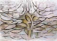 mondriaan appelboom in bloei - Google Search