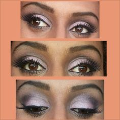 """this is my own created make-up look, """"passion pink"""""""