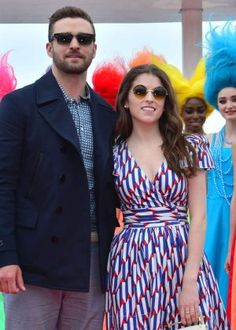 Anna Kendrick wears A04003 to the photo call of the new @DWAnimation feature film #Trolls.